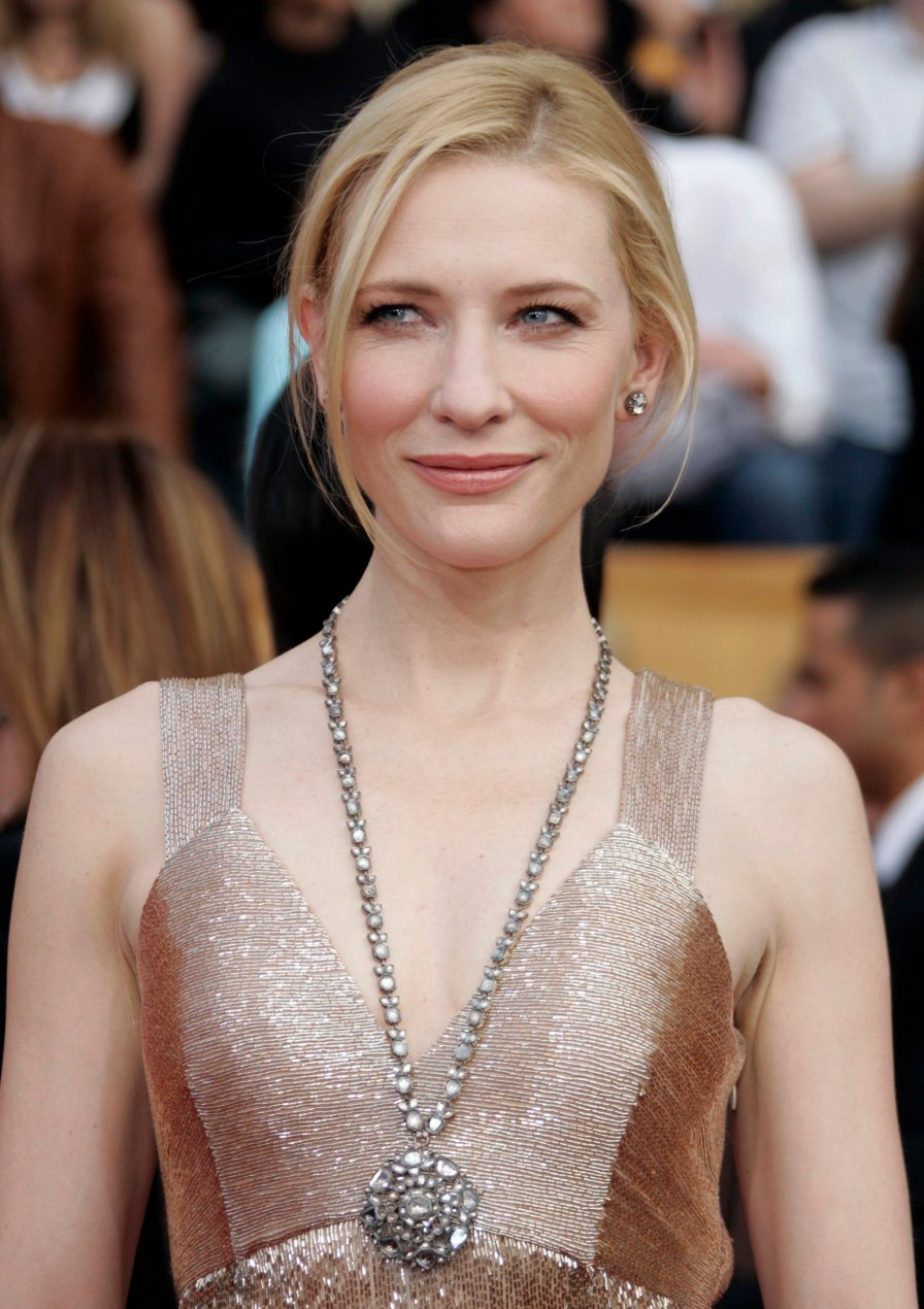 Australian actress Cate Blanchett arrives at the 13th Annual Screen Actors Guild Awards in Los Angeles